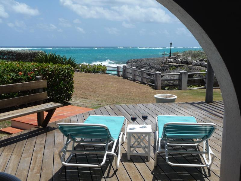Ocean views from the deck - Beach villa retreat with stunning ocean views - Saint Philip - rentals