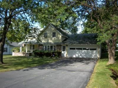 Village street side with large driveway and garage - Lakeside Sunset Getaway on Cayuga Lake - Cayuga Lake - rentals