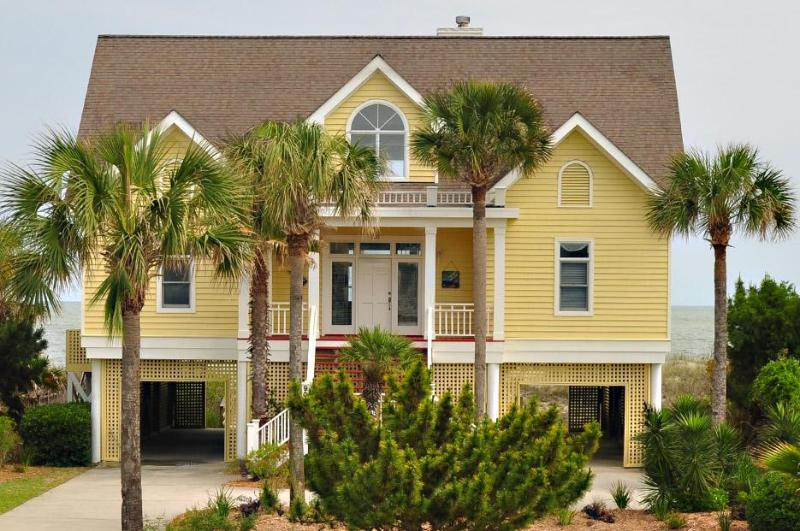 Front of House - Fall Disc for stays Now thru 10/14/16~900 Ocean - Isle of Palms - rentals
