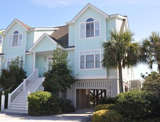 Front exterior - Fall Disc for stays Now thru 10/14/16~902 Ocean - Isle of Palms - rentals