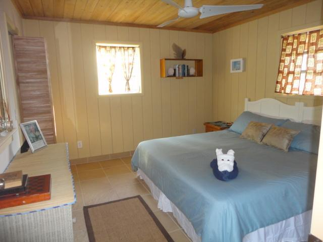 Bedroom at the Cottage with King bed - Palmirage- Private Tropical Cottage Close to Beach - Long Island - rentals