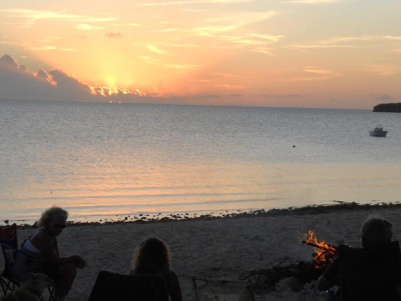 Sunset from the Beach - Palmirage-1 Bdrm Cottage or 2 Bdrm Apartment - Long Island - rentals