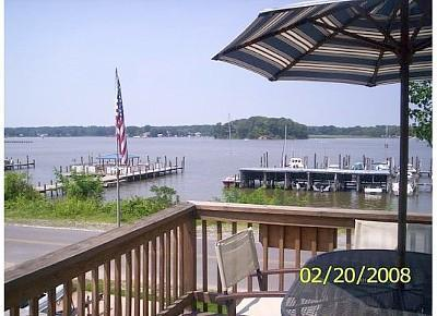 View From Front Deck - Waterfront Retreat on Monroe Bay-AMAZING SUNSETS! - Colonial Beach - rentals