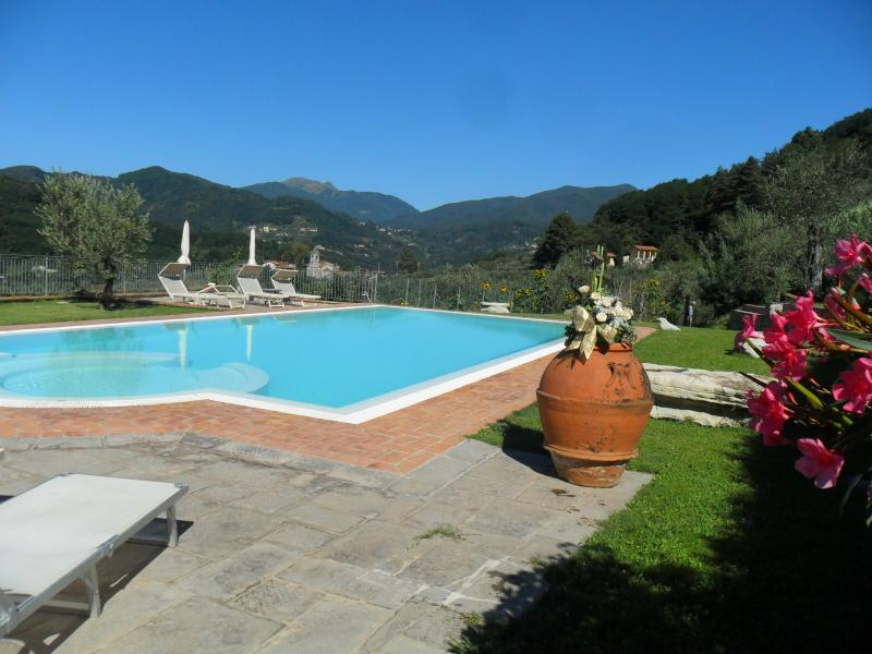 OUR INFINITY POOL - Lucca Villa with Pool, large garden&Wifi - Lucca - rentals