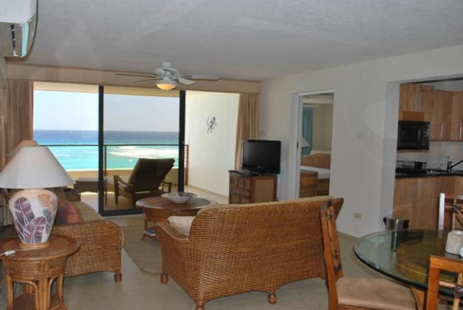Apt 9, St. Lawrence Beach Apartments, Christ Church, Barbados - Beachfront - Image 1 - Saint Lawrence Gap - rentals
