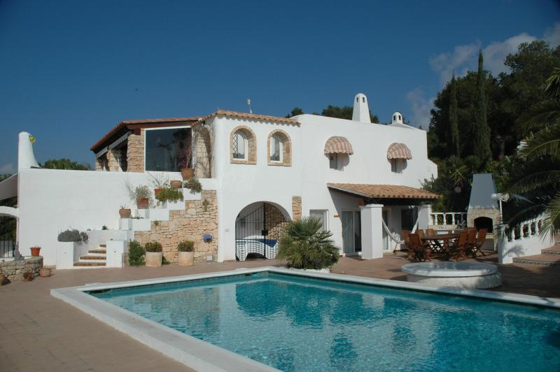 Overview of the Villa and pool - IBIZA 6 bedroom Villa views to sea & Formentera - Ibiza - rentals