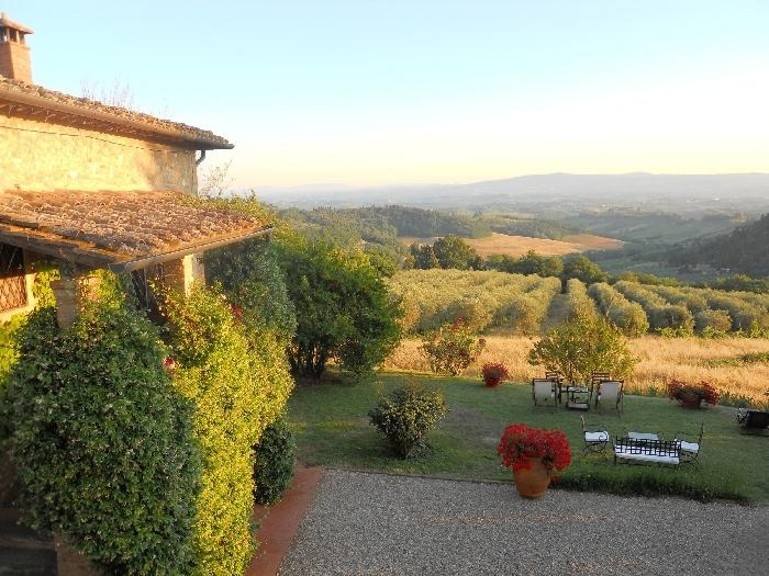 Villa la Torre Chianti vacation villa fore rent - Holiday villa in the Chianti near Florence and Siena - Image 1 - Italy - rentals