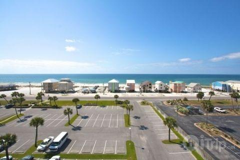 View of the Gulf from the balcony - Gulf Shores Surf and Racquet 701A - Gulf Shores - rentals