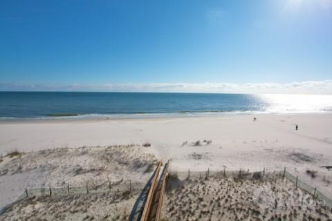 View of Beach from Balcony - Harbour Place 512 - Orange Beach - rentals