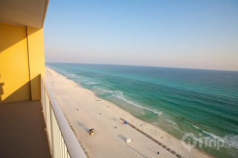Luxury Condo with Private Pool and Balcony at Tropic Winds Resort - Image 1 - Panama City Beach - rentals