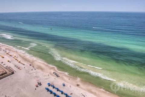 Comfortable 1 Bedroom with a View at Sychelles - Image 1 - Panama City Beach - rentals