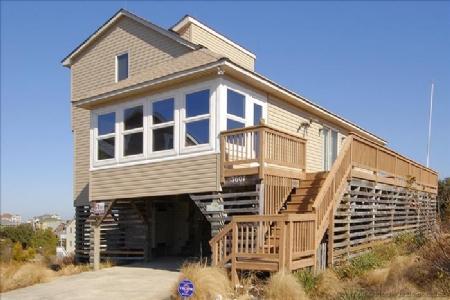 Front elevation - Maddie Mermaid's Beach House - Kitty Hawk - rentals
