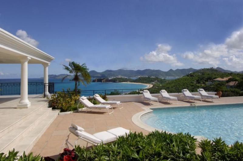 Beaulieu at Terres Basses, Saint Maarten - Ocean View, Large Heated Pool - Image 1 - Terres Basses - rentals