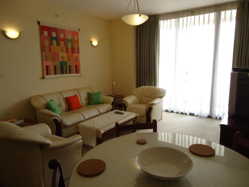 Sitting and dining room - Luxury 2 bedroom apt in  Colombo 3, Sri Lanka. - Colombo - rentals