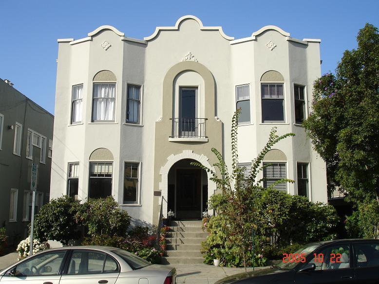 Classic, elegant stucco building. - Furnished Garden Apt, Northside, Next to campus - Berkeley - rentals