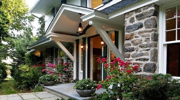 Front door - 5 Bedroom Colonial on Long Island Sound with Direc - New Rochelle - rentals