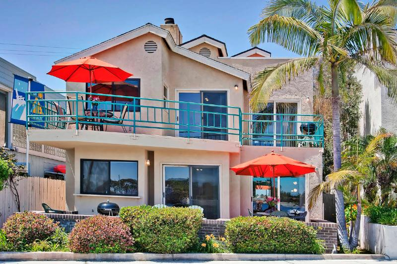 #3263+3265 - BAYFRONT W/Patio and Balcony! - Image 1 - Pacific Beach - rentals