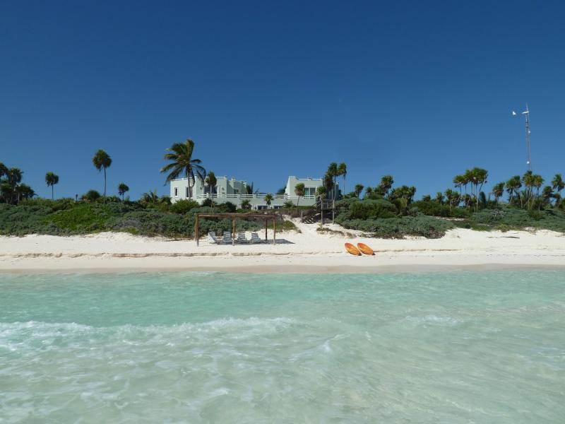 Turtle's view as they come to nest! - Casa de los Pelicanos Tulum Amazing Wht Sand Beach - Tulum - rentals