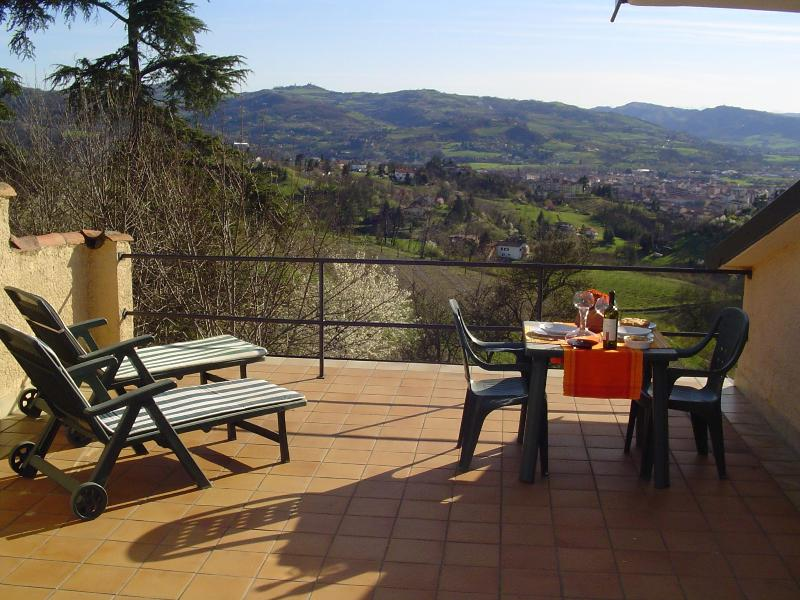 panoramic terrace - Podere Luciano - Acqui Terme - rentals