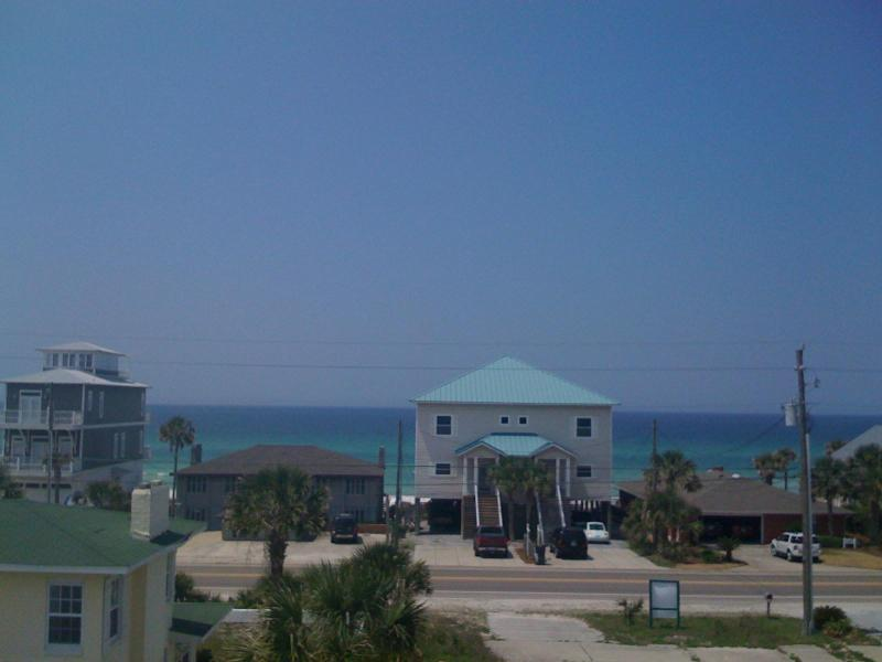 View From House (Does not do it justice) - SPECIALS - Spacious 6 Bedroom w/ OceanView & Pool - Panama City Beach - rentals