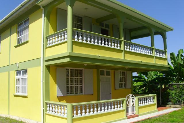 Front of the house - La Tye Cottage - Dominica - rentals