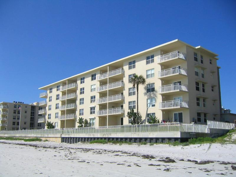 The Condo Building - Right on the Beach, The View Can't be Beat - New Smyrna Beach - rentals
