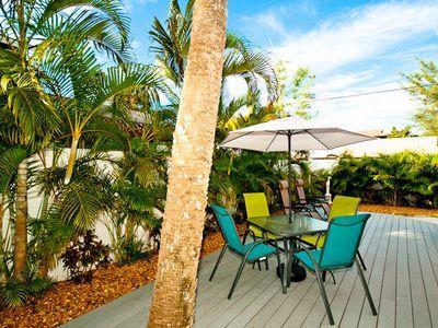 Patio - The Seashell Cottage - Anna Maria - rentals