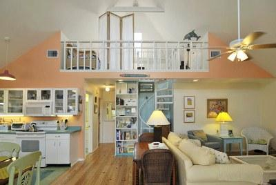Open Floor Plan - Star Fish Cottage-209 Palm Ave - Anna Maria - rentals