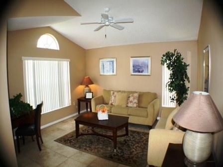 Living Area - RH4P7951MBC 4 Bedroom Pool Home Near Disney - Orlando - rentals