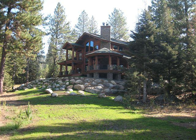 Side View - Big Pine- Grand Lodge amongst the Pines of Aspen Ridge - McCall - rentals