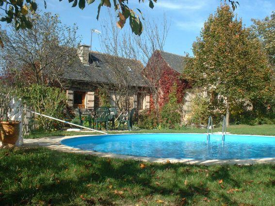 Lamothe Gite Aveyron Swimming pool and farmhouse - Gîte de charme LaMothe en Aveyron - Aveyron - rentals