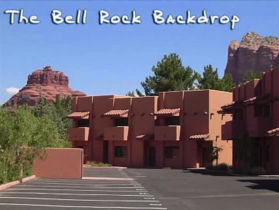 Exterior of townhouse with great views - Sedona Townhouse - Unit B - Sedona - rentals