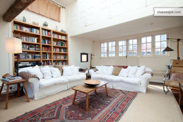 Former Silk Weavers' Loft with garden, Spitalfields - Image 1 - London - rentals