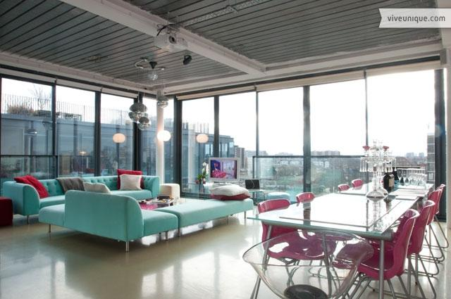 Ultra-modern 1 bed penthouse with roof terrace, Tower Bridge - Image 1 - London - rentals