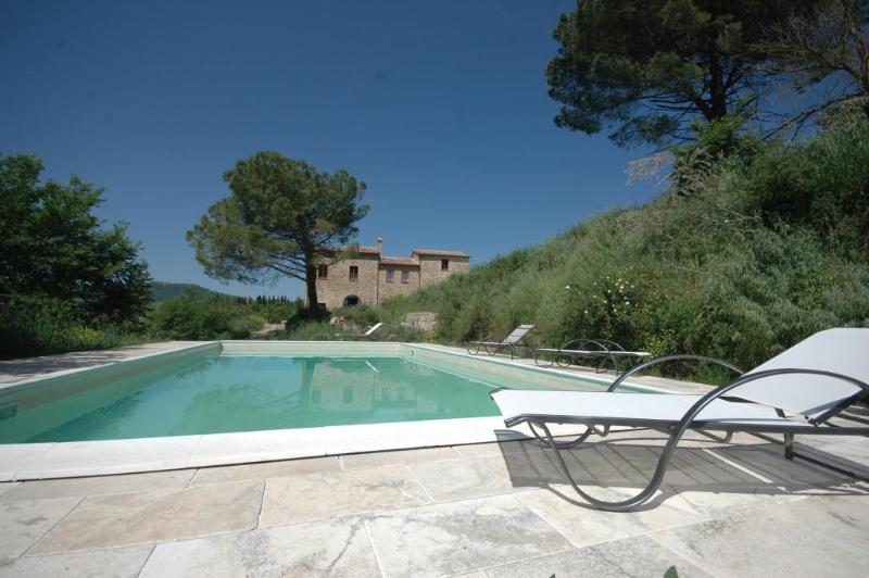 La Casina Pool - Luxury 4 Bedroom Farmhouse near Montepulciano - Montepulciano - rentals