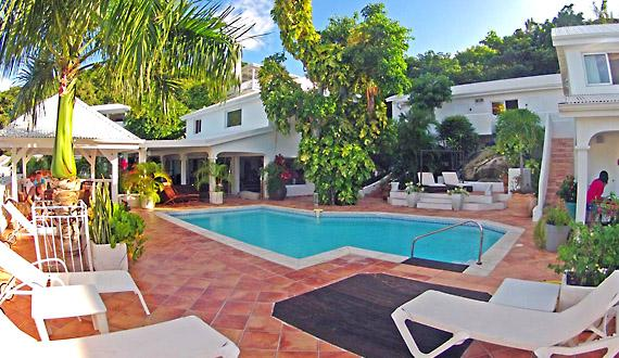 Villa Joelle - Ideal for Couples and Families, Beautiful Pool and Beach - Image 1 - Anse Marcel - rentals