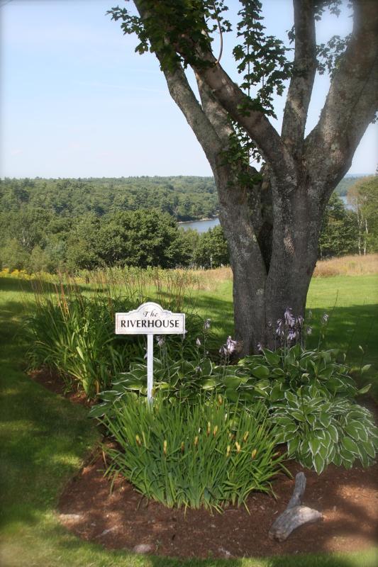 Garden - The Riverhouse - Orland - rentals