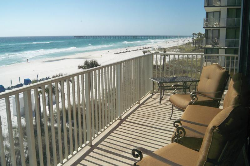 Enjoy endless gulf views from your private balcony - Edgewater Beach Resort Leeward 308 - Panama City Beach - rentals