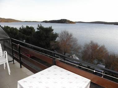 A2(2+1): terrace view - 5042 A2(2+1) - Tisno - Tisno - rentals