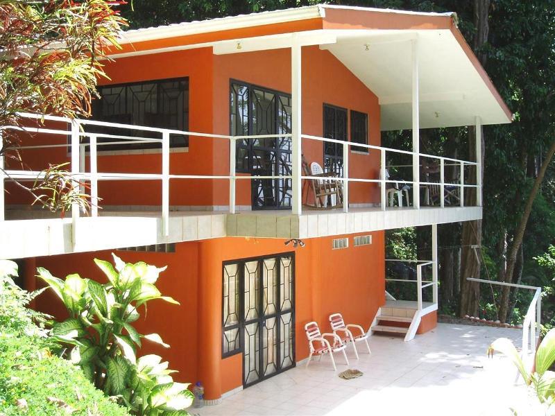 Ocean facing view - Casa Miramar, The Funky Beach Bungalow - Dominical - rentals