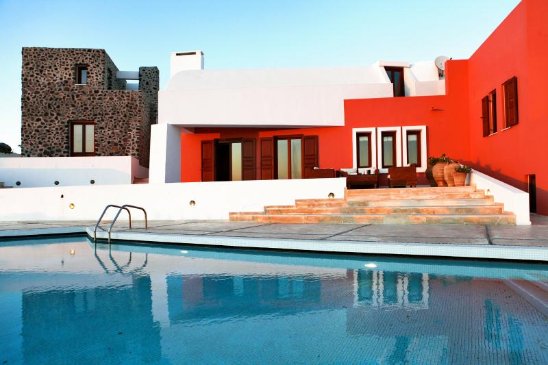 Luxury Island Villa on Santorini with Views of the Mediterranean Sea - Villa Agnes - Image 1 - Imerovigli - rentals