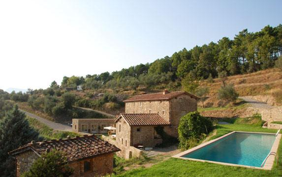Tuscan Farmhouse with Pool Views Near Lucca  - Casa Maia - Image 1 - Vorno - rentals