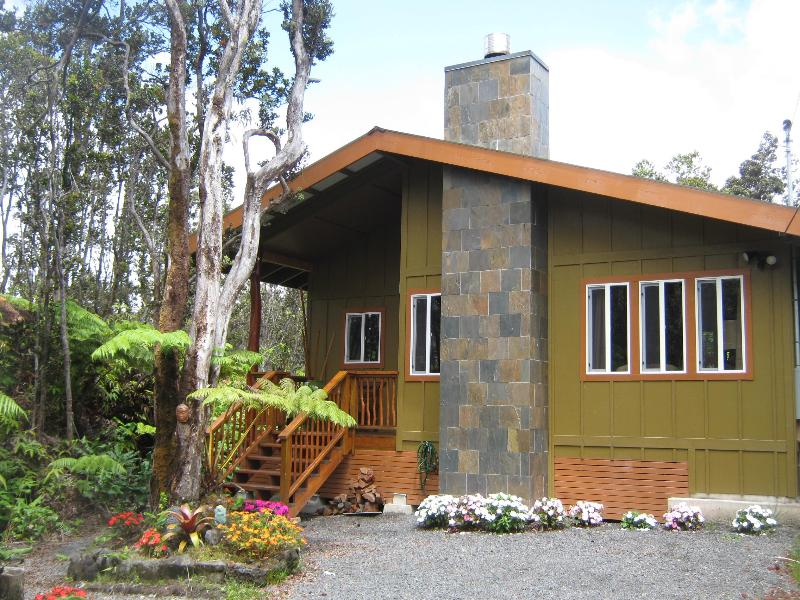 Volcano Singing Forest Cottage Hot tub & fireplace - Image 1 - Volcano - rentals