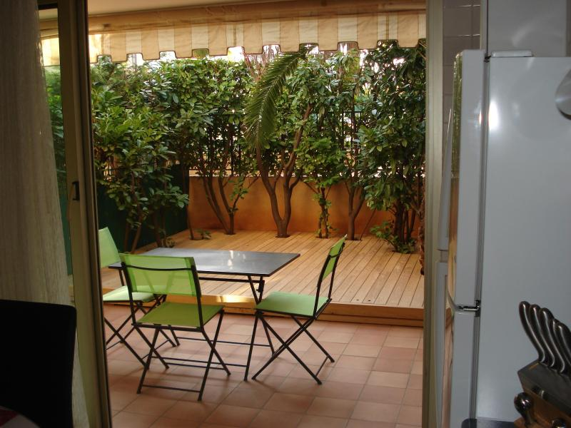Beautiful studio on the French Riviera near Nice - Image 1 - Saint-Laurent du Var - rentals