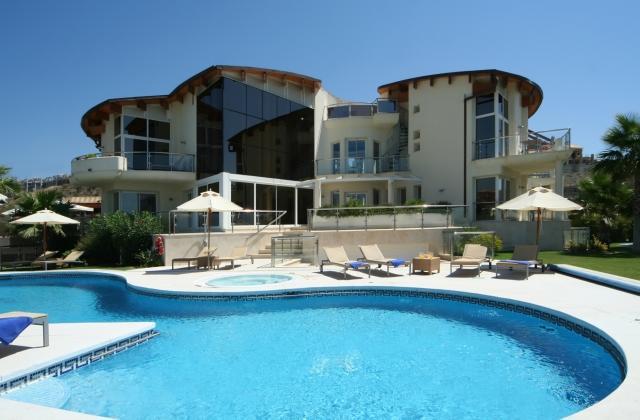 Exterior Pool Area - Villa El Cid - Benahavis - rentals