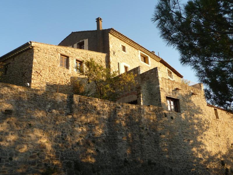view onto 'Atelier' - Provencal hilltop village, 'Atelier' for 2 - La Begude-de-Mazenc - rentals