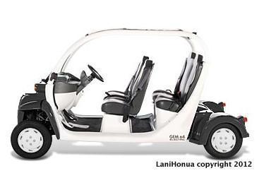 Golf Cart - 4 Person Street Legal Cart with Seat belts (GEM Electric Car) - KoOlina Luxury Villa- Golf Cart - Walk to Beach - Kapolei - rentals