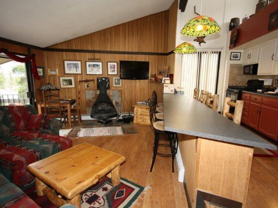 Gold Camp II Condo with Colorado Mountain Appeal, Minutes to Peak 8 - Image 1 - Breckenridge - rentals
