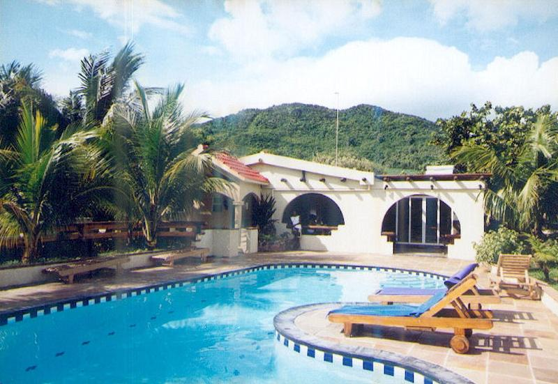 "Villa Tia - Quality ""Creole Style"" Villa - min. 2 weeks rental - Bois des Amourettes - rentals"