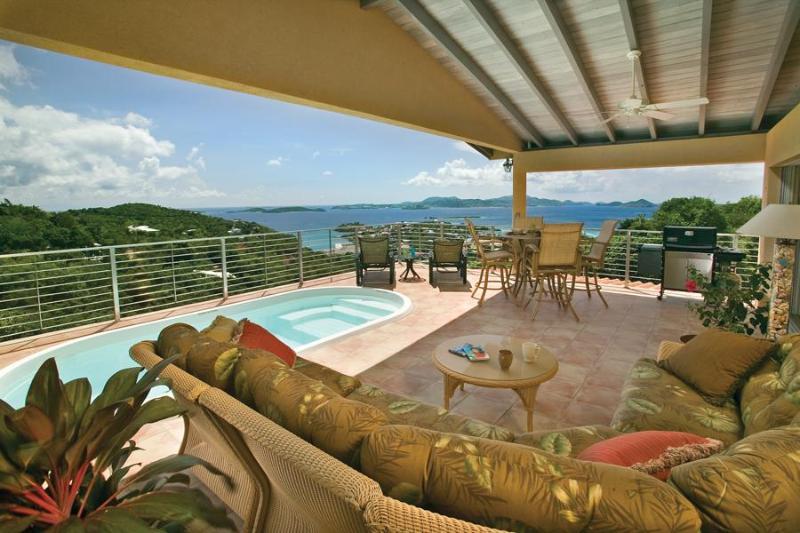 Ginger Thomas 2 Bedroom 5 Star Luxury Villa - Image 1 - Cruz Bay - rentals